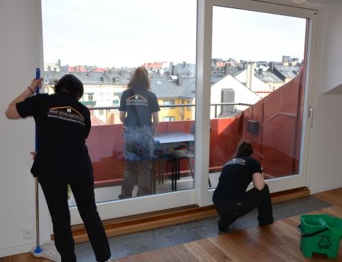 REKOMMENDATION: B&B:S NOGGRANNA FLYTTSTÄDNING I STOCKHOLM